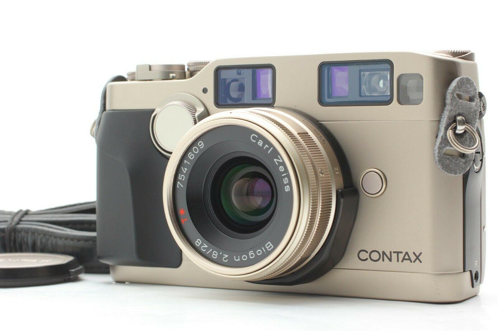 CONTAX G2+Biogon 28mm
